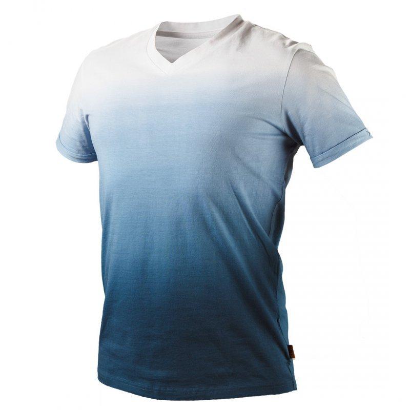 T-shirt cieniowany DENIM, rozmiar XXXL