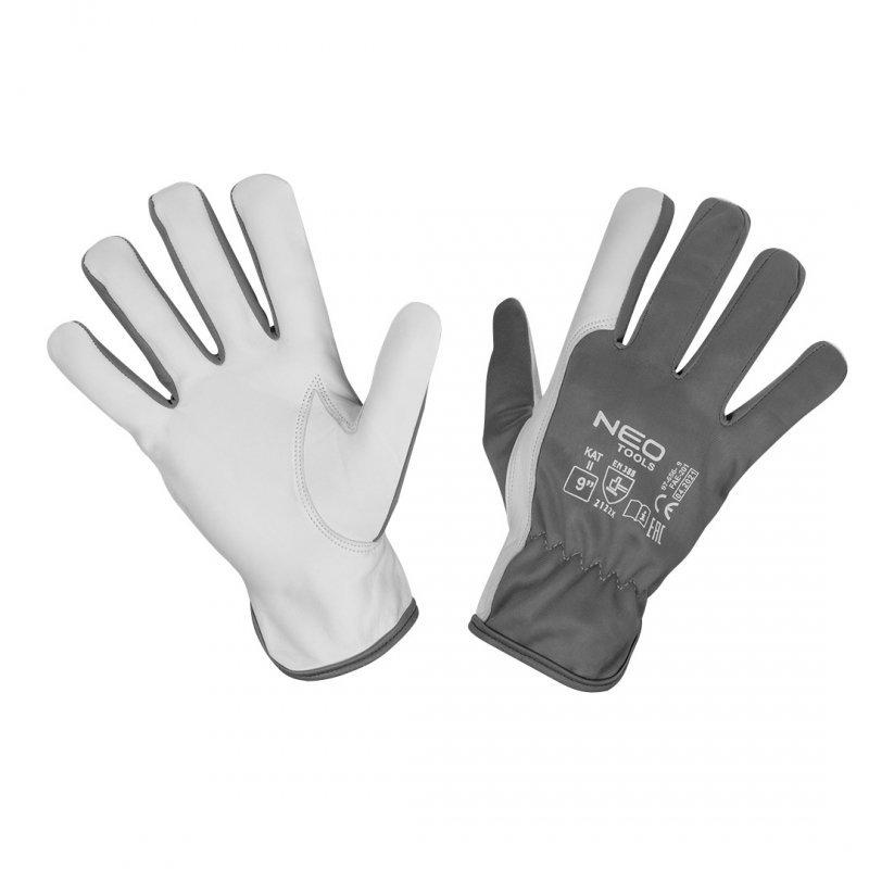 """Rękawice robocze, 2122X, skóra kozia, rozmiar 9"""", CE"""