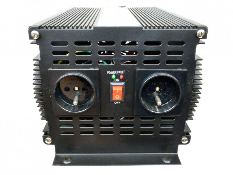 Volt ips 4000/24 przetwornica napięcia 2000w/4000w 24v/230v