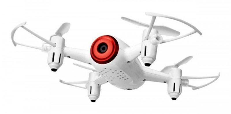 Syma X22SW (kamera FPV WiFi, 2.4GHz, żyroskop, auto start, zawis, zasięg do 25m, 17.6cm) - Biały