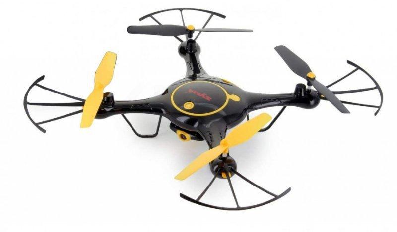 Syma X5UW (kamera WiFi FPV 720P, 2.4GHz, zawis, zasięg do 70m, planowanie trasy) - czarny