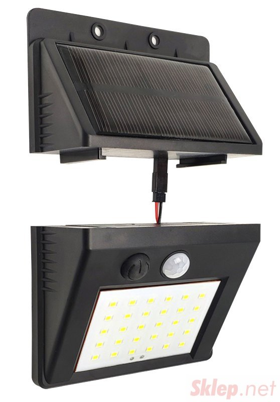 ZD53B Lampa solarna 30led z czujnikiem