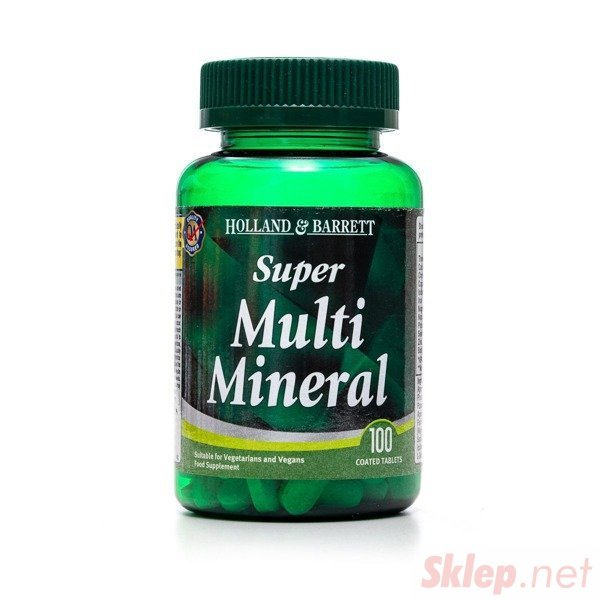 Super MultiMineral 100 Tabletek
