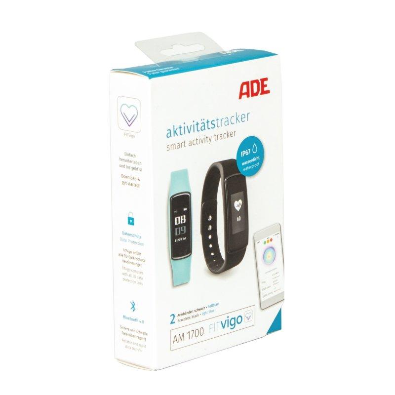 ADE FITVigo AM1700 Opaska monitorująca aktywność czarna