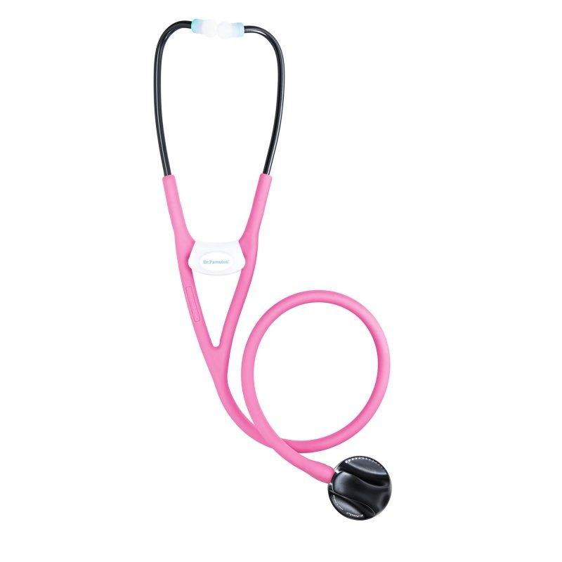 Dr. Famulus DR 680 D-różowy Stetoskop następnej generacji, Strojenie Fine Tune, Internistyczny, Kardiologiczny