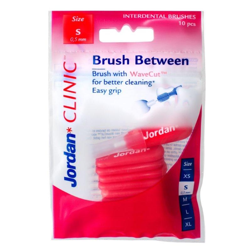 Jordan Clinic Brush Between-S 0.5 mm Szczoteczki międzyzębowe