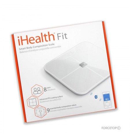 Inteligentna waga do analizy ciała - iHealth Fit HS2S Inteligentna waga do analizy ciała - iHealth Fit HS2S