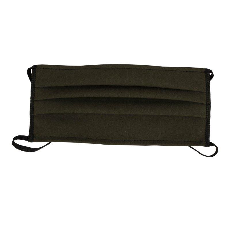 Półmaska ochronna z gumkami 2-warstwowa 10 szt ciemnozielona (khaki) / op. 10 szt
