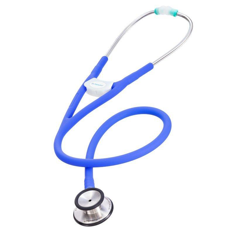Stetoskop Dr. Famulus DR510 purple  Stetoskop następnej generacji - podwójne światło przewodu głowica internistyczna.