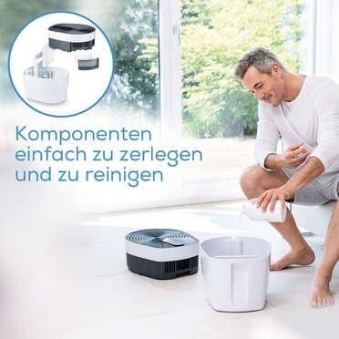 Filtry wstępne i filtr wody do BEURER MK 500 BEURER MareMed zestaw filtrów