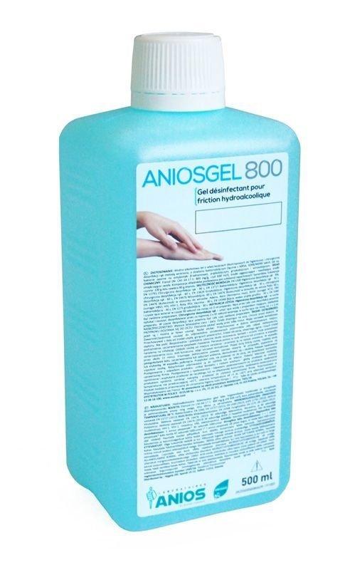 Anios AniosGel 800 500ml żel do higienicznej i chirurgicznej dezynfekcji rąk