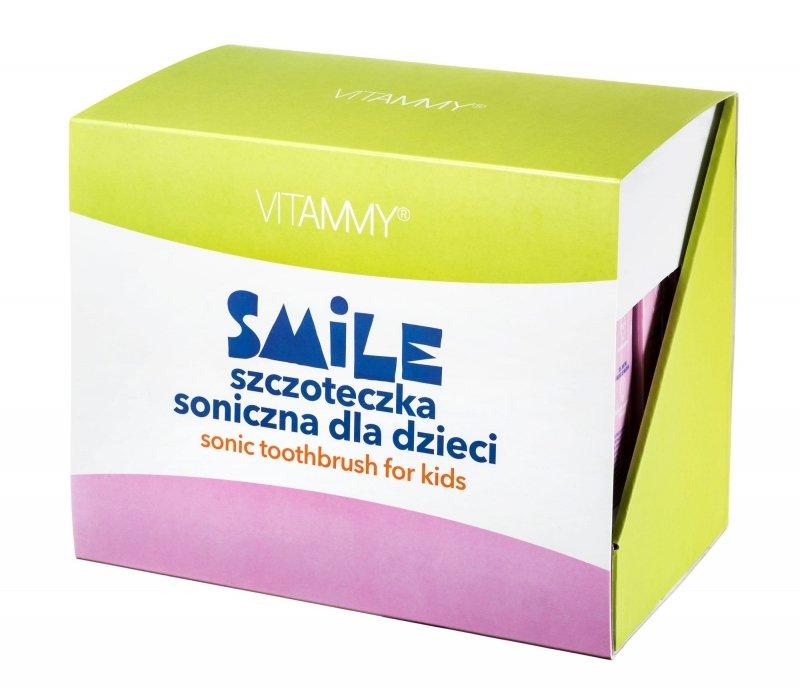 VITAMMY Smile/ display 9 szt (kot, wiewiórka, lisek) Szczoteczka soniczna dla dzieci z zębami mlecznymi 3 +
