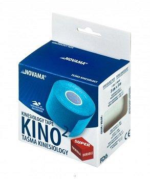 NOVAMA KINO2 czerwona Taśma kinesiology (Kinesiotaping)