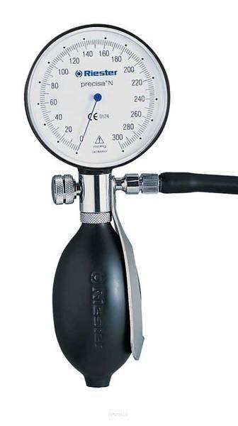 Riester precisa N-24 - 32 cm RIESTER 1360-101 Ciśnieniomierz zegarowy precisa N czarny