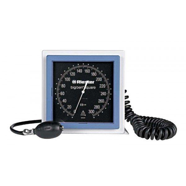 Riester Big Ben-24 - 32 cm RIESTER 1455 do biurkowego kwadratowego Duży lekarski ciśnieniomierz zegarowy