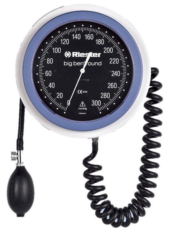 Riester Big Ben-24 - 32 RIESTER 1468 do jezdnego okrągłego Duży lekarski ciśnieniomierz zegarowy