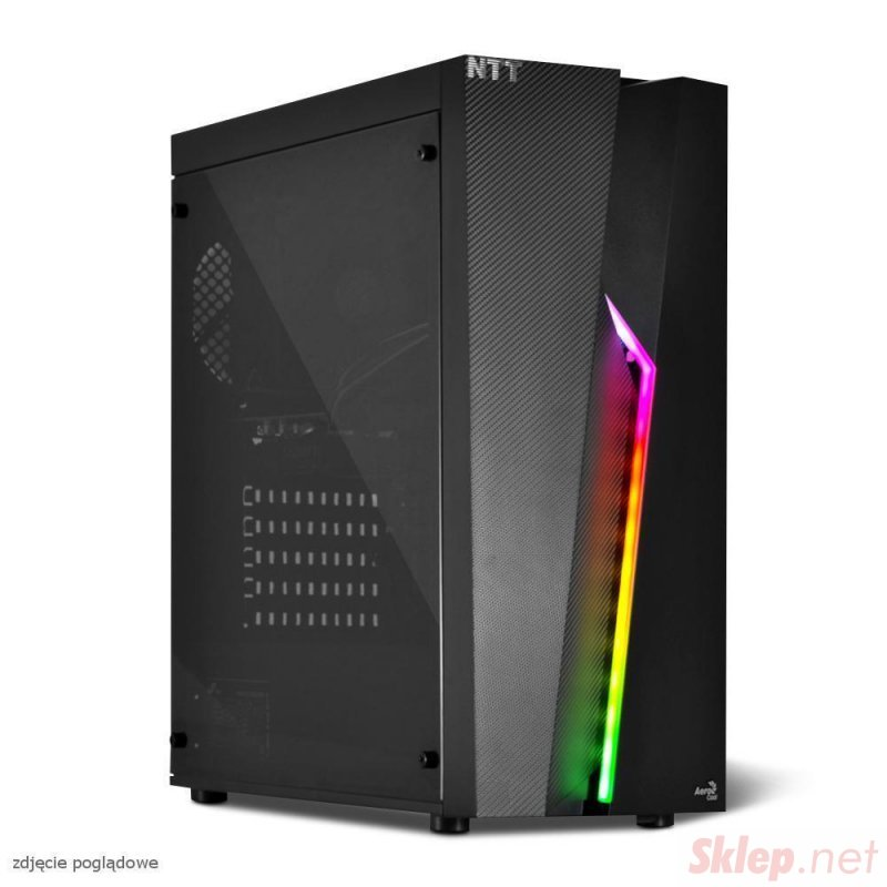 Komputer do gier NTT Game R - Ryzen 5-3600, RTX 3060 12GB, 16GB RAM, 1TB SSD, W10