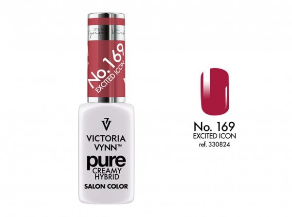 PURE LAKIER HYBRYDOWY EXCITED ICON 8 ML (169) VICTORIA VYNN