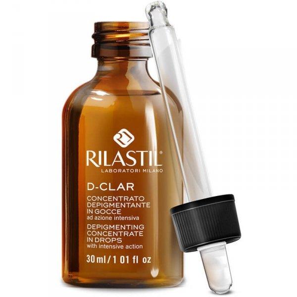 krem wybielający rozjaśniający plamy na twarzy - Rilastil DClar