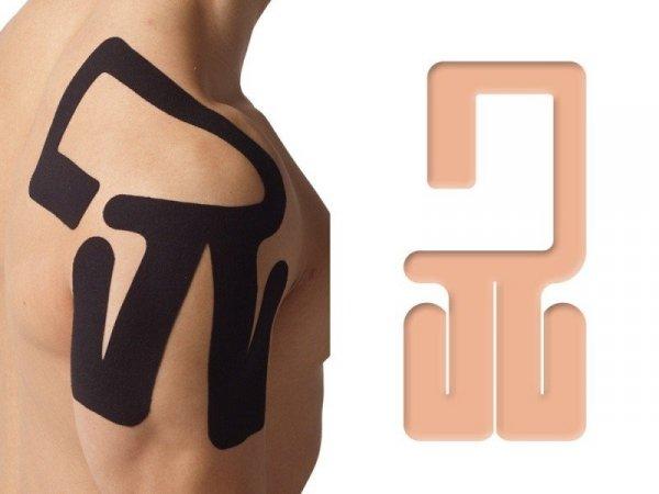 K-Active Kinesiology Tape PreCut Bark Prawy