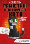 Fioletowy portal pamiętnik 8-bitowego kota Minecraft pamiętnik 8 bitowego wojownika Tom 7