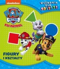 Figury i kształty. Psi Patrol. Wyzwania dla malucha.