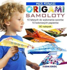 Moje pierwsze origami samoloty wyd. 2020