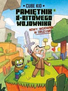 Nowy wojownik w drużynie. Minecraft pamiętnik 8 bitowego wojownika Tom 9