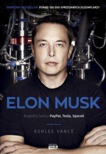 Elon Musk biografia twórcy Paypal Tesla Spacex wyd. kieszonkowe