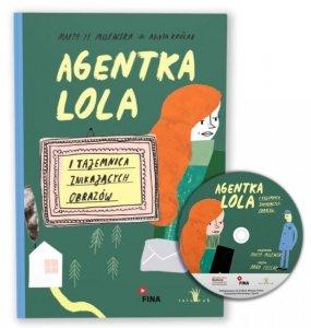 Agentka Lola i Tajemnica znikających obrazów + CD