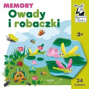 Gra memory Owady i robaczki  Kapitan Nauka