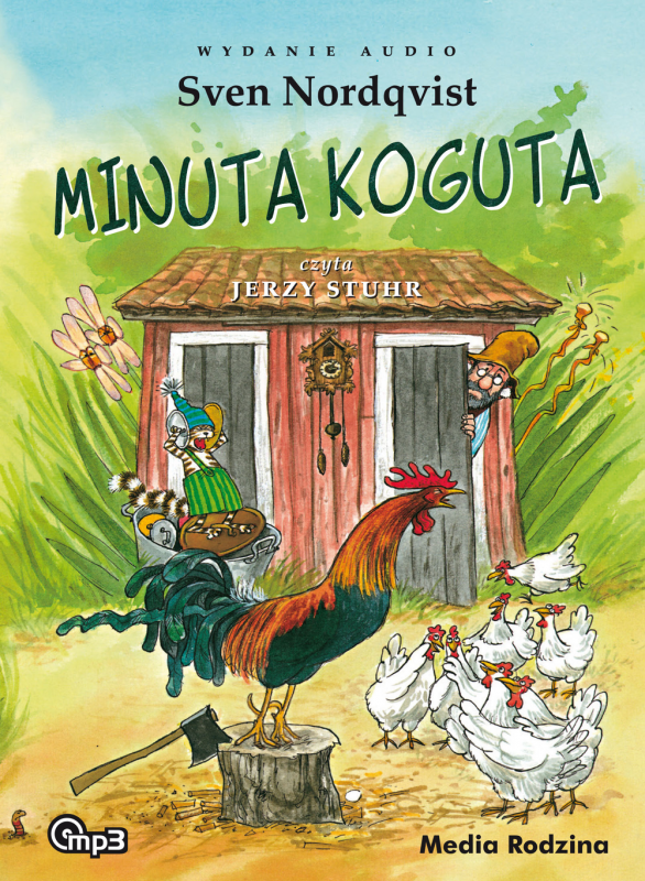 CD MP3 Minuta koguta pettson i findus