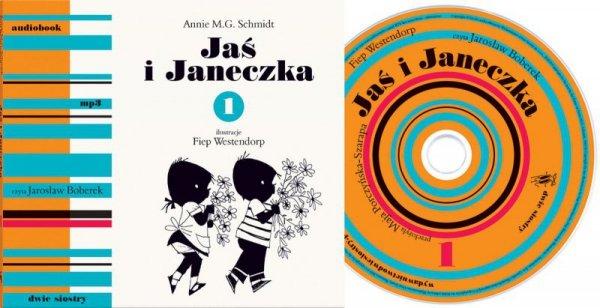 CD MP3 Jaś i janeczka Tom 1