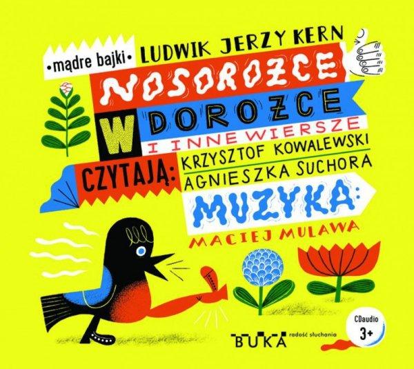 CD MP3 Nosorożce w dorożce i inne wiersze
