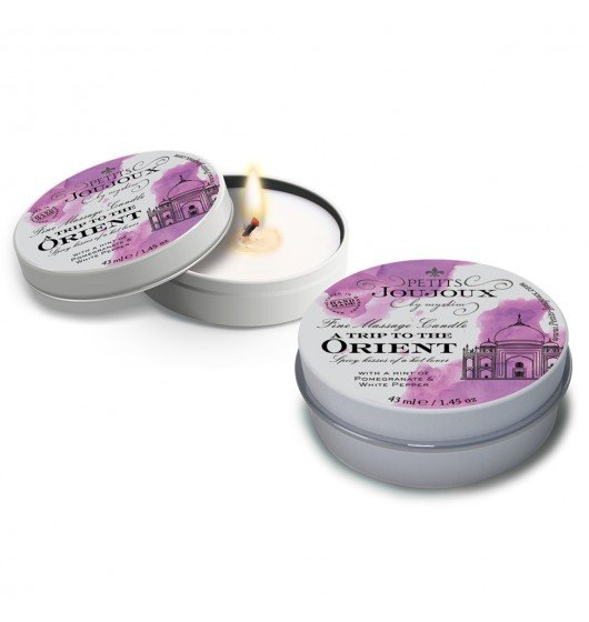 Petits Joujoux Fine Massage Candles - A trip to the Orient (5 x 33 g)