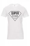 Koszulka biała - znakowanie - SUPER DZIADEK