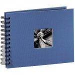 Hama album fine art 24x17/50 błękitny czarne kartki