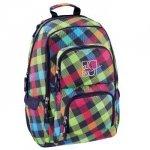 Plecak szkolny Louth Rainbow Check - All Out Hama
