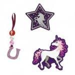 Zestaw elementów wymiennych Magic Mags Unicorn do tornistra Space - Step by Step Hama