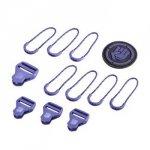 Coocazoo Zestaw Elementów Wymiennych Classic, Dahlia Purple Do Plecaków Z Systemem Matchpatch