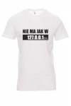 Koszulka biała - NIE MA JAK W 127.0.0.1