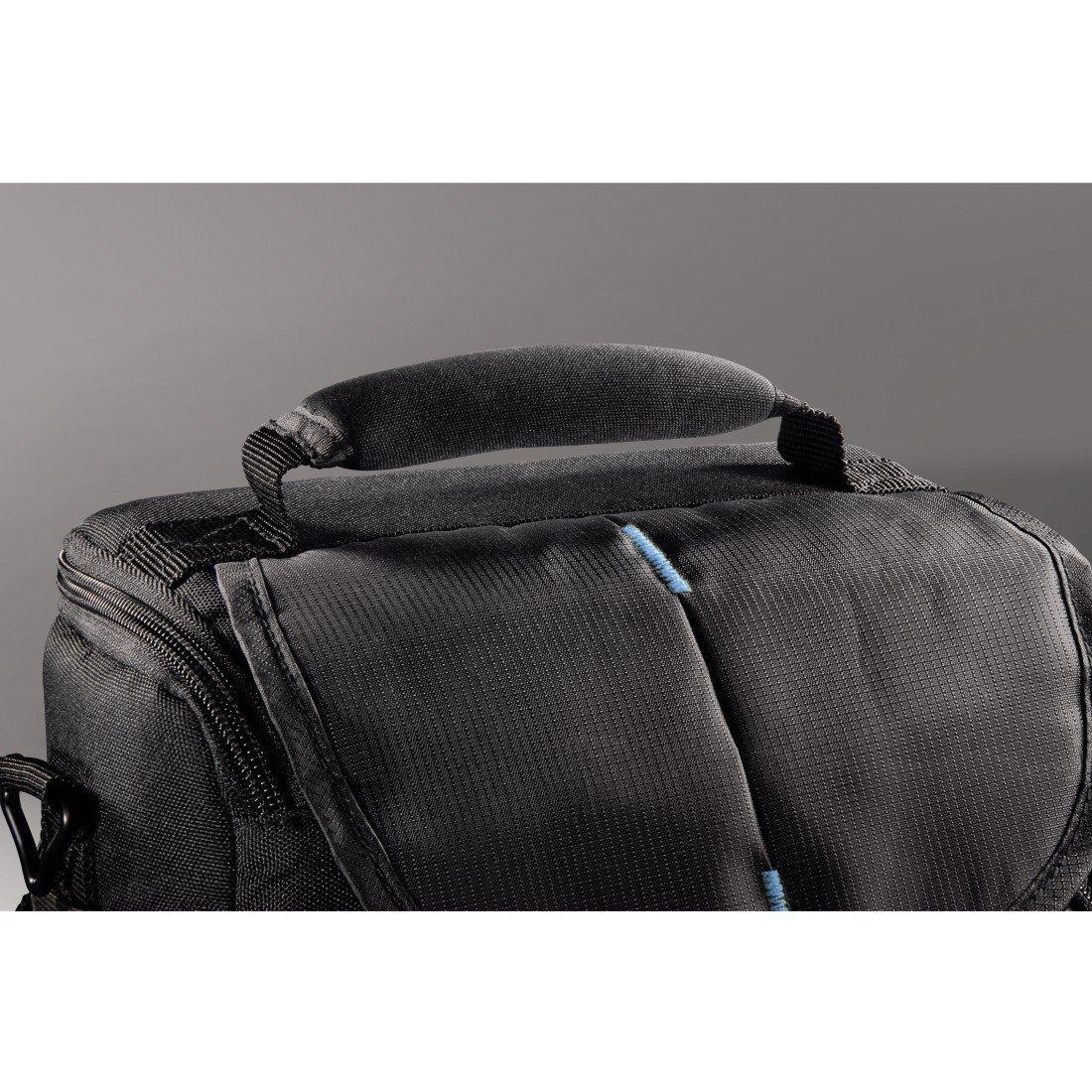 32d187eef467e Hama torba canberra 110 colt czarna niebieska + gratis - Torby ...