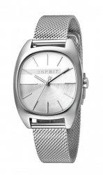 Damski zegarek Esprit ES Infinity srebrny Mesh - L ES1L038M0075