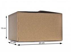 Pudełko kartonowe - opakowanie 20x20x12 cm - 10 sztuk