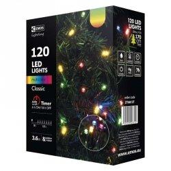 Lampki choinkowe 12m RGB 120szt ZY0813T