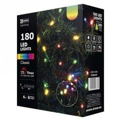 Lampki choinkowe 18m RGB 180szt ZY0814T
