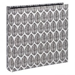 Album jumbo la fleur 30x30/100 biały czarne kartki