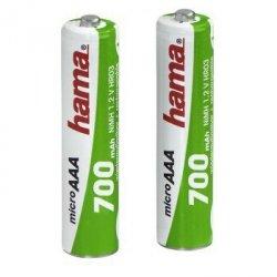 Hama akumulatory hama 2xaaa 700 ni-mh