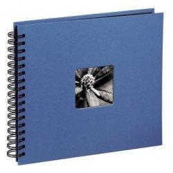 Hama album fine art 28x24/50 błękitny czarne strony