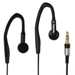 Słuchawki douszne clip-on  hk3203  czarne